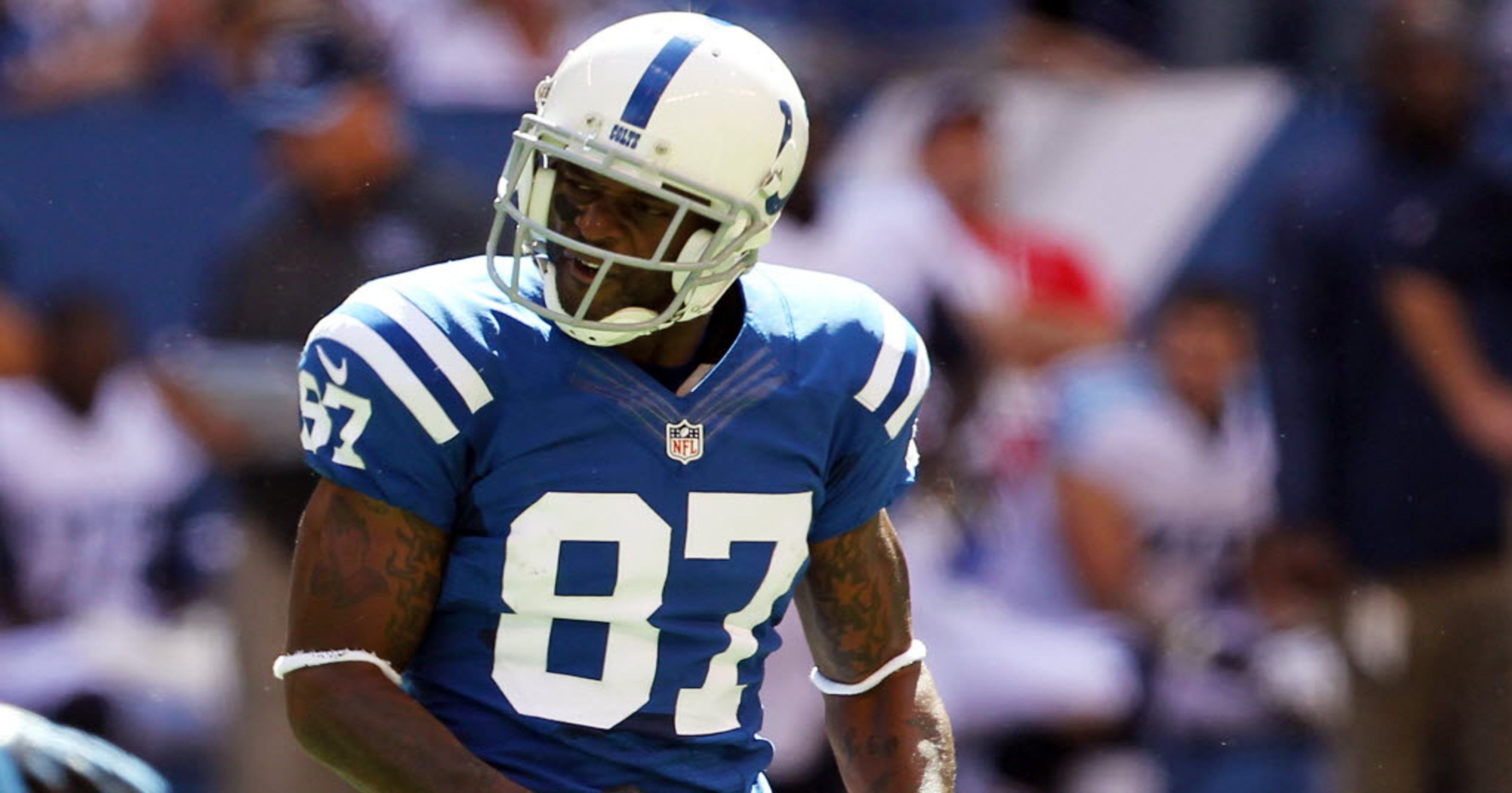 separation shoes 7e22f 9bfe0 Reggie Wayne to New England Patriots leaves a bad taste in ...