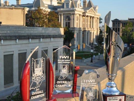 SWAT Championship Trophies