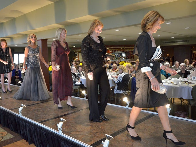 The Longacre Fashion Show drew more than 400 guests.