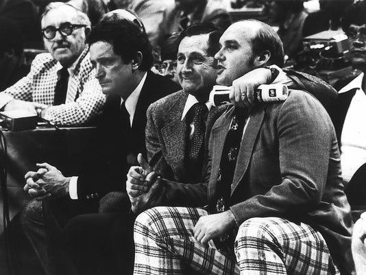 Al McGuire, Hank Raymonds and Rick Majerus