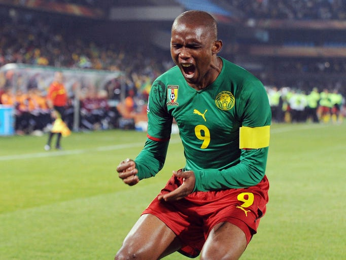 Take a look back at Forbes' 100 highest-paid athletes in the world list for 2013. Their earnings figures include salaries, bonuses, prize money, appearance fees, as well as licensing and endorsement income between June 1, 2012 and June 1, 2013. ... No. 100 Samuel Eto'o | Total Earnings: $16.4 million  | Salary/winnings: $13.4 million  | Endorsements: $3 million