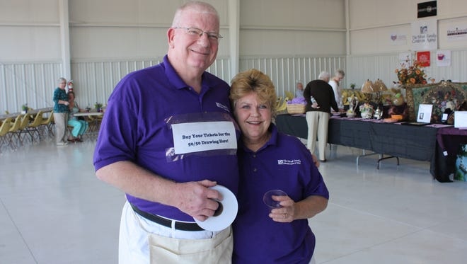 Janet and Paul Mruk at the 2015 fundraising event.