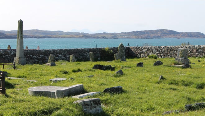 The ancient cemetery, according to tradition, is the final resting place of the early Scottish kings.