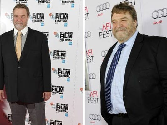 Goodman now vs. at the premiere of 'The Gambler' on Nov. 10, 2014.