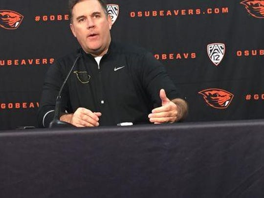 Kevin Clune is the new defensive coordinator for the Beavers.