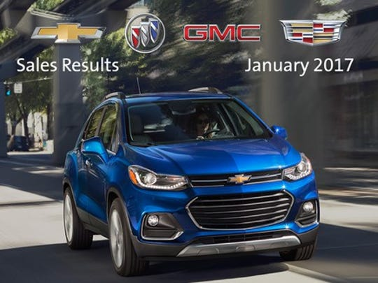 Image of GM's Chevrolet Trax.