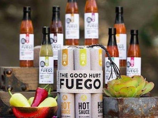 Best Valentine's Day gifts for men: Good Hurt Fuego hot sauce sampler.