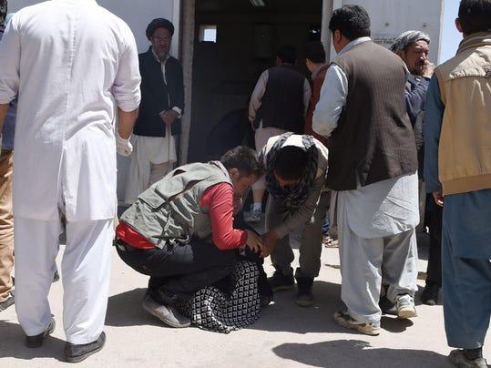 AFGHANISTAN-UNREST-ELECTION