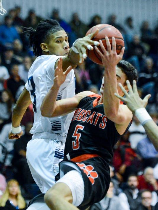 Northeastern vs Dallastown boys' basketball