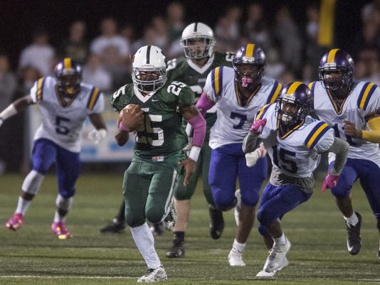 Nazir Streater, Camden Catholic football
