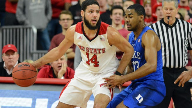 North Carolina State transfer Caleb Martin, above, and his brother Cody, both top-100 prospects out of high school, committed to Nevada this week.