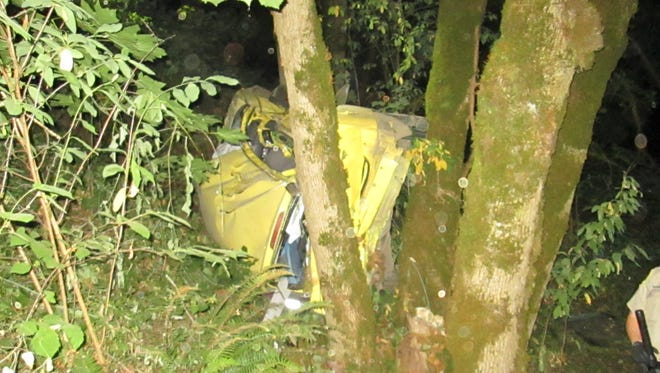 Oregon State Police identified the man killed in a rollover crash north of Salem as 24-year-old Ivan Garcia-Trapala.