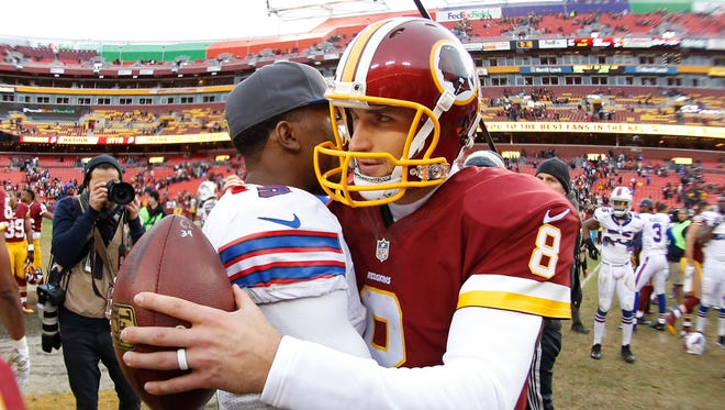 Could Tyrod Taylor or Kirk Cousins find their way to the Cardinals?