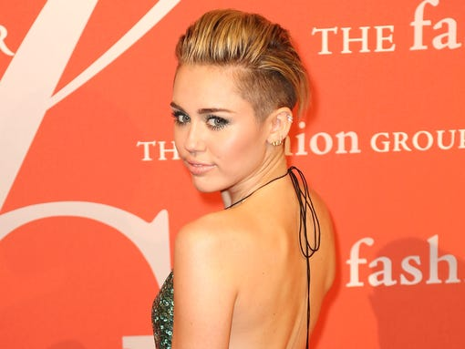 Miley Cyrus Night of Stars gala