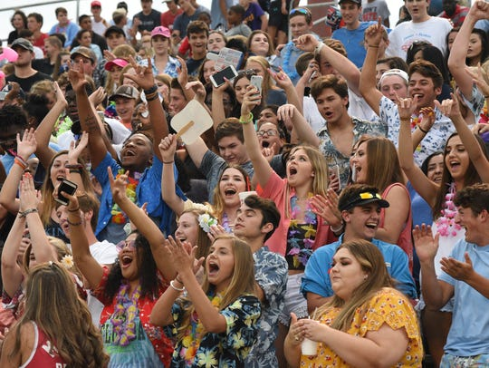 Airline students show some spirit at the 64th annual