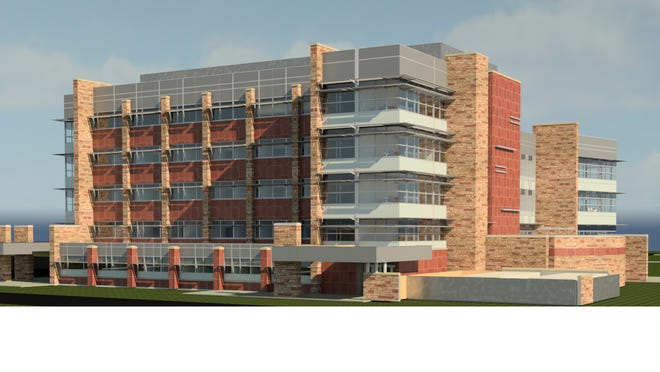 This rendering shows Colorado State University's planned $81 million biology building planned to open by fall 2017.