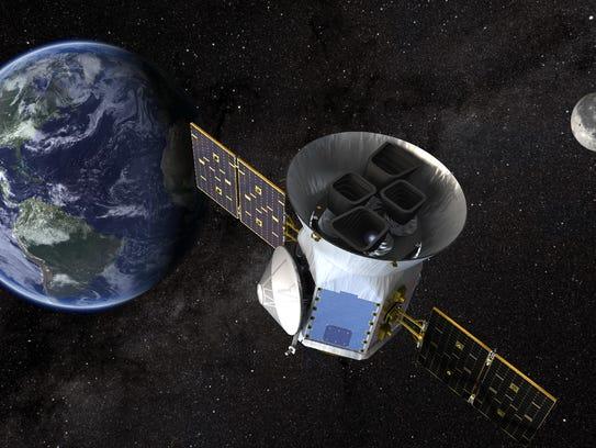 NASA's Transiting Exoplanet Survey Satellite, or TESS,