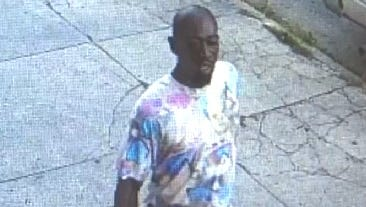 The Camden County Police Department says this man is a suspect in a stabbing that occurred Thursday.