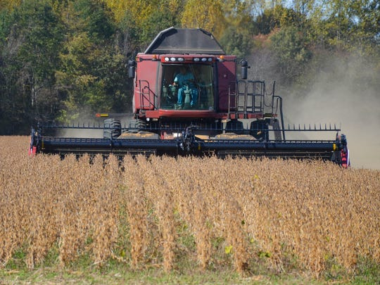 Farmers are saying it was a good year for the soybean crop.