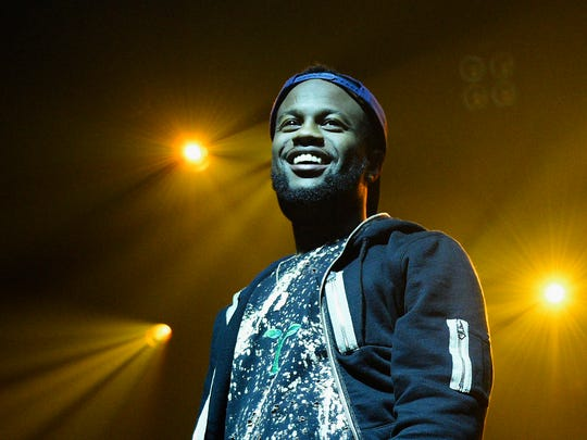 Casey Veggies performs at the TIDAL Live event during Advertising Week 2015 AWXII at Webster Hall on September 30, 2015 in New York City.