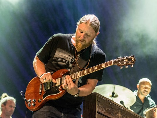 Derek Trucks of The Tedeschi Trucks Band