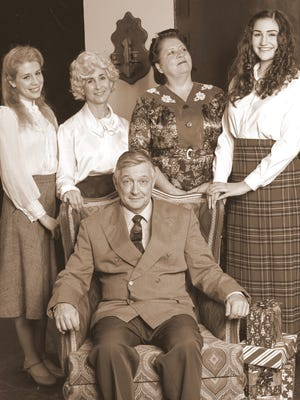"""The cast of Lab Theater's """"The Last Night of Ballyhoo."""""""