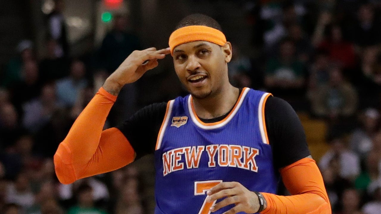 Home Apps Report Knicks Exploring Carmelo Anthony Trade