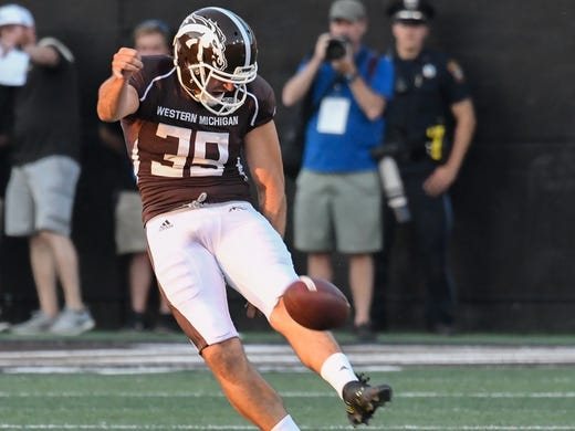 Oldest player in FBS a versatile weapon for WMU at age 30