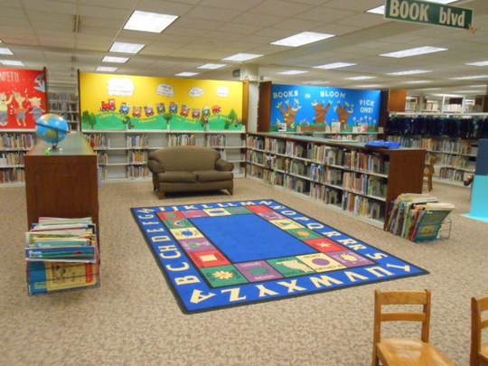 The Muskego Public Library children's area will soon