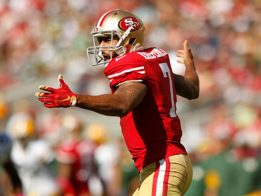 USP NFL: GREEN BAY PACKERS AT SAN FRANCISCO 49ERS S FBN USA CA