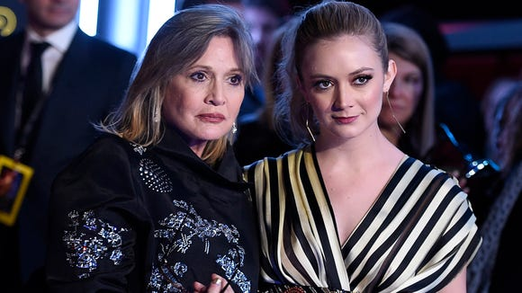 The mother-daughter bond between Carrie Fisher and