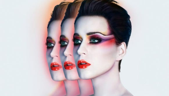 Katy Perry's tour art.
