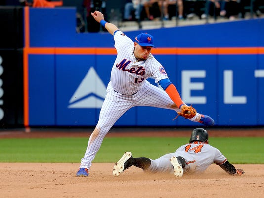 MLB: Baltimore Orthles at New York Mets