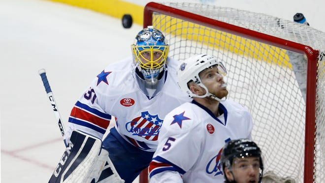 Amerks' goalie Linus Ullmark leads AHL in saves, shots, minutes and games played. The second-year pro from Sweden is headed to AHL All-Star Classic.