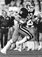 Keli McGregor was an All-American tight end in 1984
