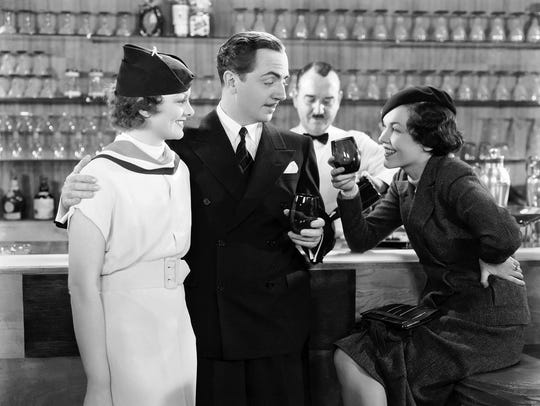 "The 1934 comic mystery ""The Thin Man"" stars    Myrna"