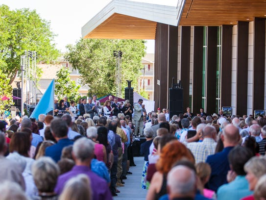 Beverley Taylor Sorenson Center for the Arts Opening
