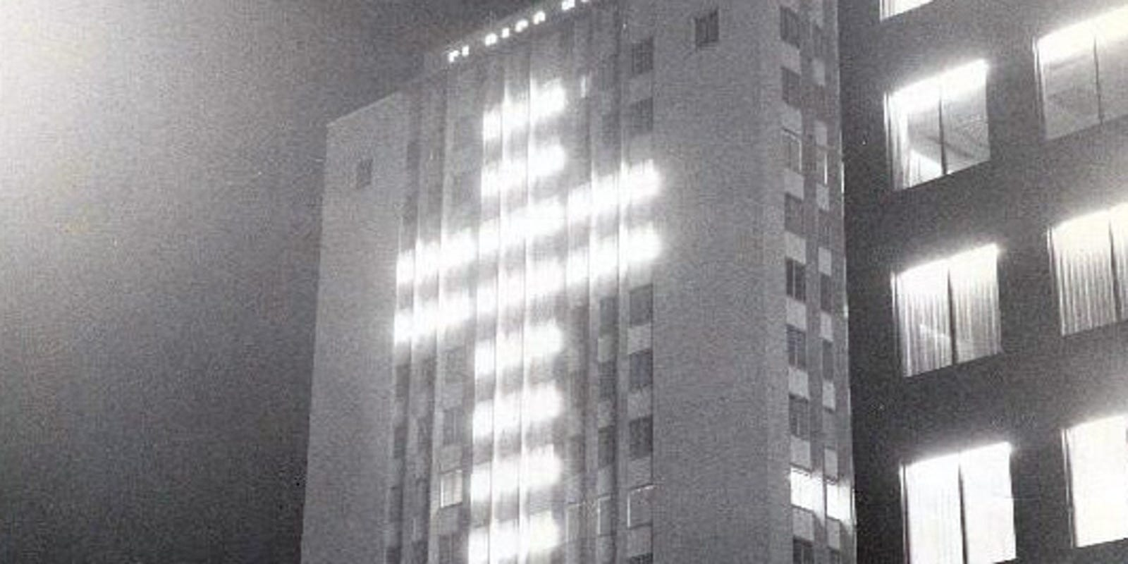 Blue Flame, first lit in 1955, to light up Downtown skyline again