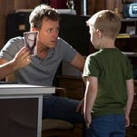 Greg Kinnear and Connor Corum in a scene from Heaven Is For Real.