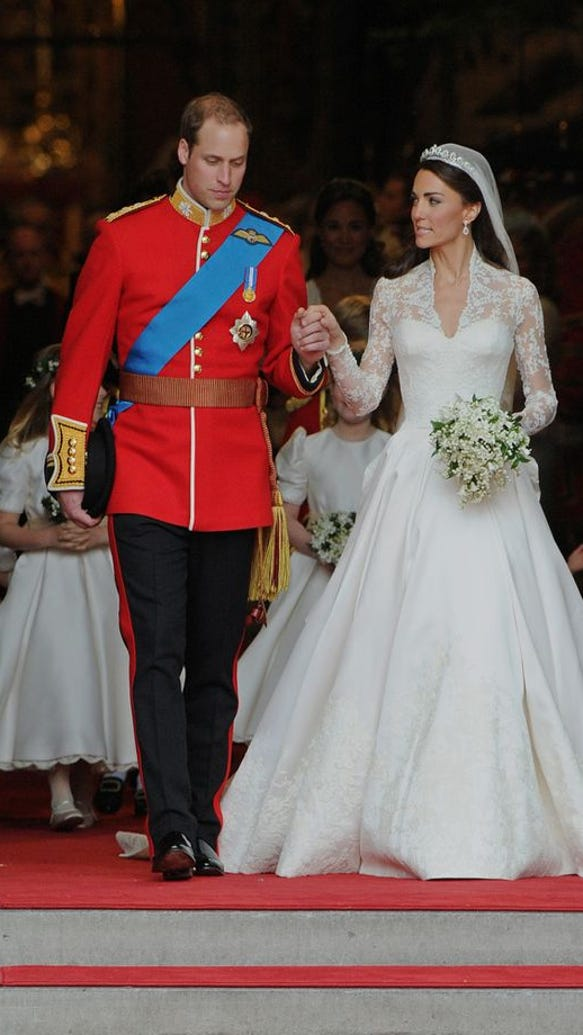 The Most Iconic Wedding Gowns In History - Harper's BAZAAR