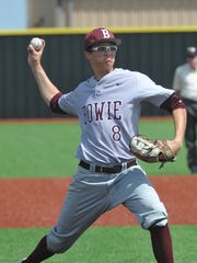 Bowie pitcher Heston Tole committed to play at the University of Arkansas before he ever played a high school game. He showed why during his freshman campaign for the Jackrabbits, making him the Red River Diamond Dozen Newcomer of the Year.