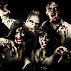 group of zombies