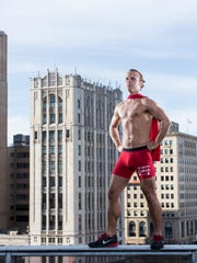 John Marcicky will be among the runners in the brutal cold this weekend. He's race director for Cupid's Undie Run Detroit, a fundraiser for the Children's Tumor Foundation.