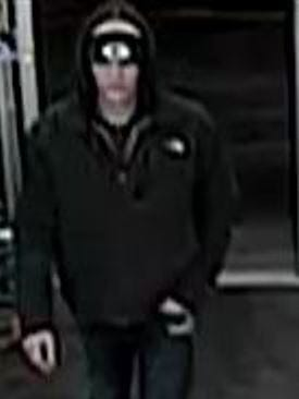 Oshkosh Police are looking for information about this man, whom they believe fraudulently used a credit card at CVS Pharmacy on Jan. 27