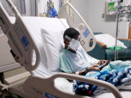 Malik Cosey, 9, was shot in the head in Detroit on