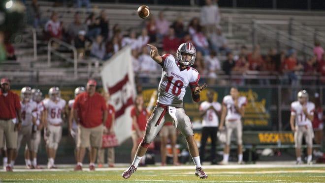 Hendersonville quarterback Michael Schmidt leads Western North Carolina in passing.