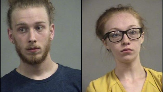 Taylor Davis, left, and Alyssa Murphy, right, are facing one count each of wanton endangerment