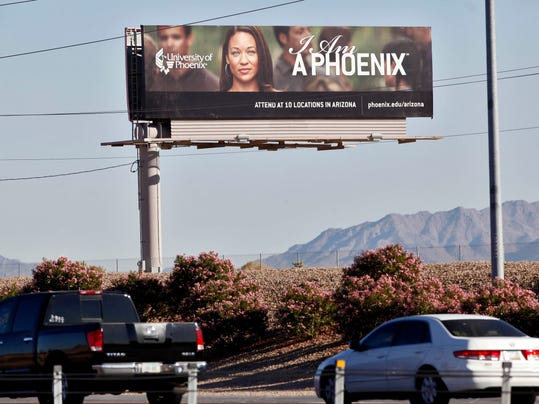 University of Phoenix billboard