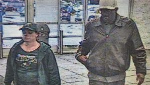 Springettsbury Township Police are hoping to identify this couple, suspected of theft at the Walmart.