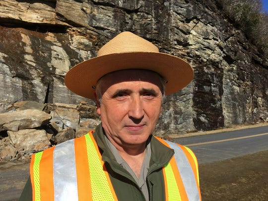 Mike Molling is Blue Ridge Parkway chief of maintenance